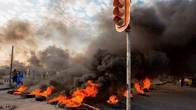 اعتراضات عراق همچنان ادامه دارد