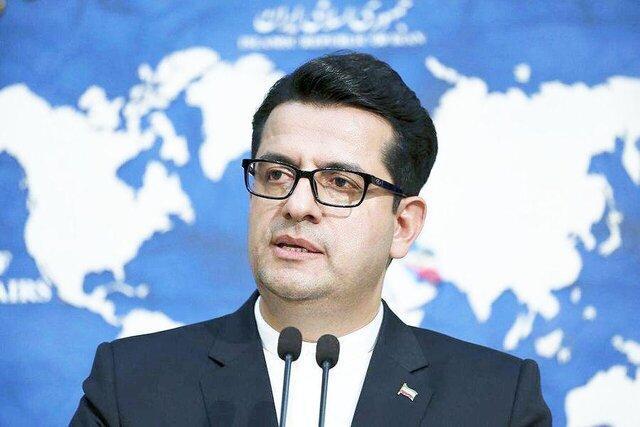 موسوی: آلمان بجای اتخاذ مواضع مغرضانه، رعایت مبانی اولیه حقوق بشری را در دستورکار قرار دهد