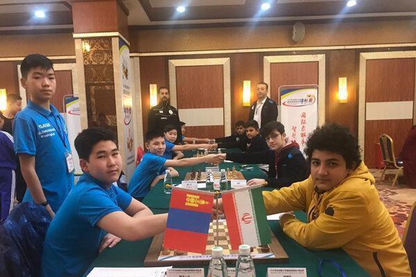 صدرنشینی شطرنج بازان نوجوان ایران در قاره کهن