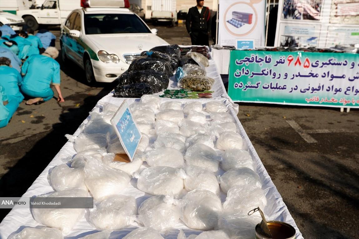 1.5 تن مواد مخدر در پایتخت کشف شد