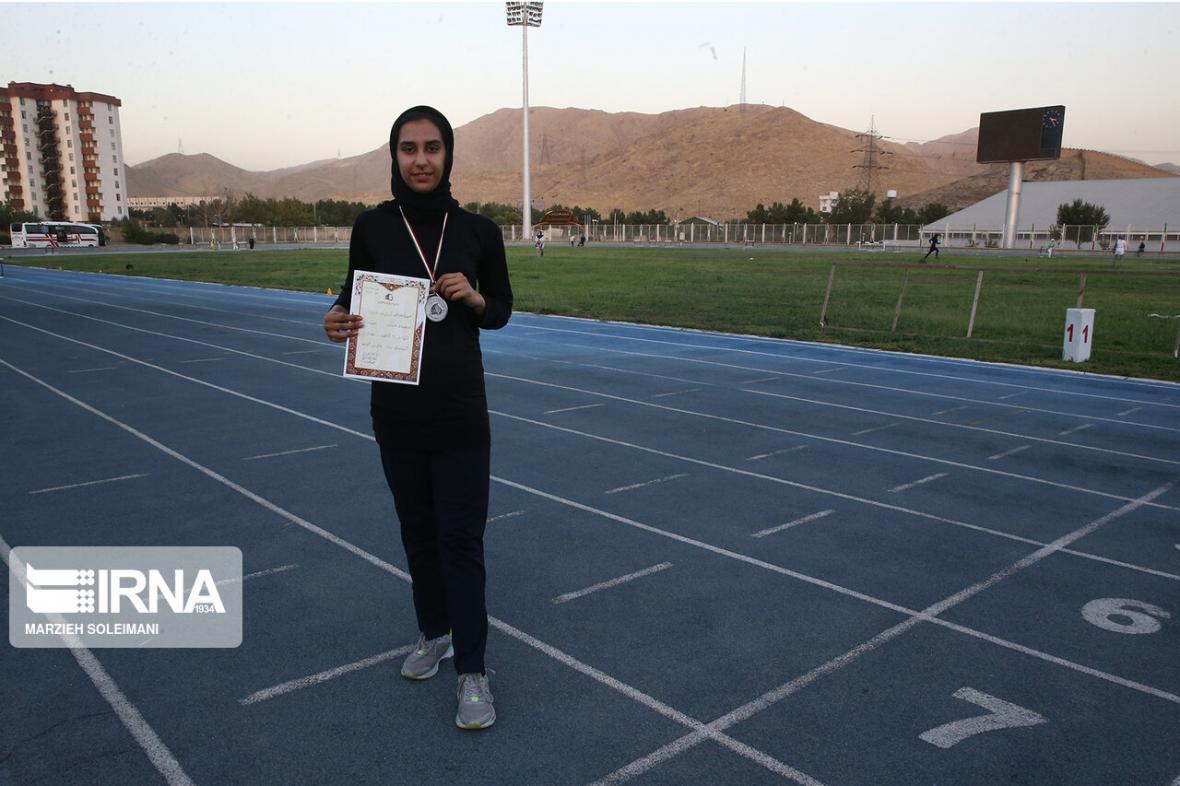 خبرنگاران مبینی رکورد پرش طول زنان ایران را بعد از 45 سال شکست