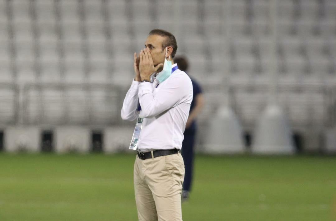خبرنگاران گل محمدی: به بازیکنانم افتخار می کنم، از امشب باید روی النصر تمرکز کنیم