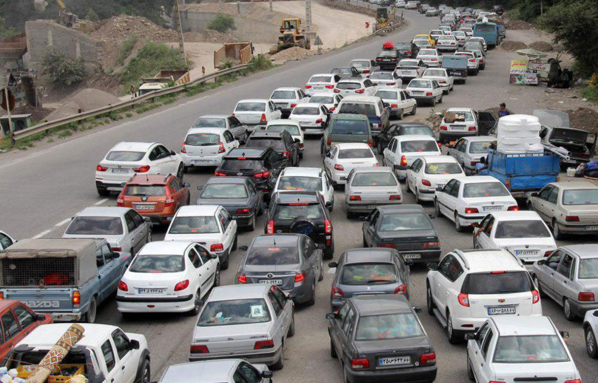 خبرنگاران ترافیک سنگین در محورهای شمالی کشور