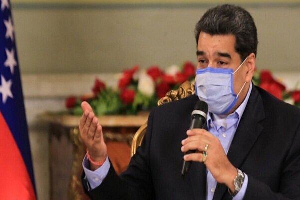 مادورو: کشورهای غربی مانع از خرید واکسن کرونا می شوند