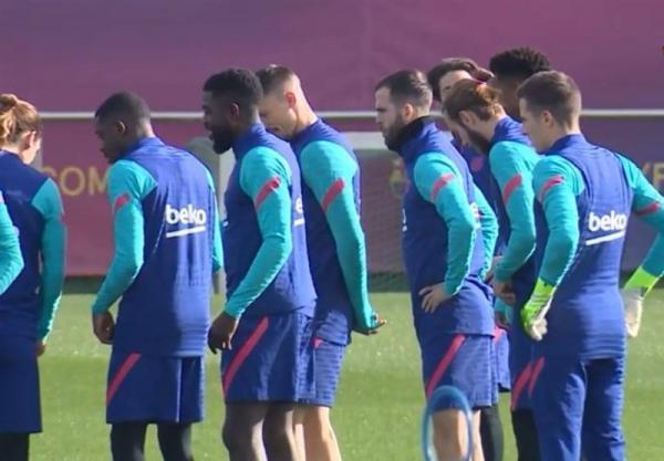 سه بازیکن بارسلونا بازی با سویا را از دست دادند