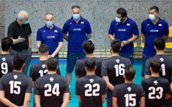تمرین تیم ملی والیبال رسما آغاز شد