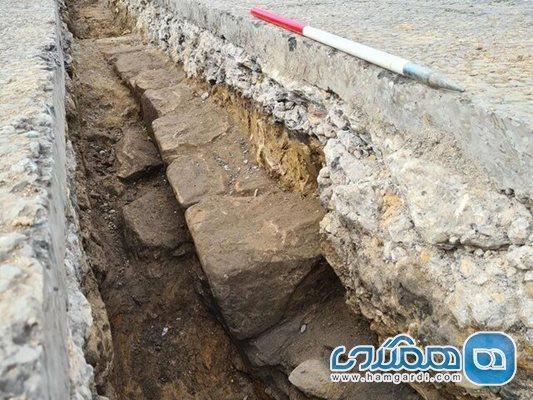بخش جدیدی از دیوار هادریان به طور اتفاقی در انگلستان کشف شد